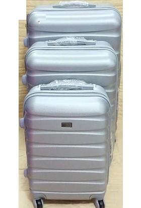 88014abc811fd ... Boyraz Abs 3'Lü 4 Tekerlekli Valiz Set,Seyehat Çantası,Bavul,Kırılmaz  ...