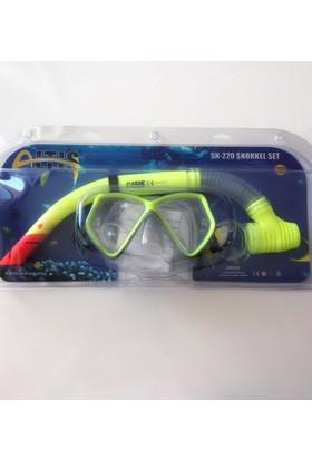 Altis Sn220 Snorkel Yüzücü Gözlüğü Set