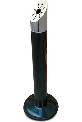 Aben Sanayi Tipi Küllük Paslanmaz Çelik Kül Tablası Oval Ayaklı