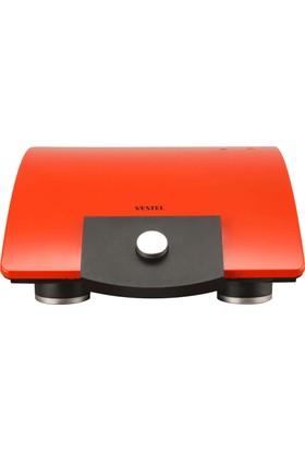 Vestel V-Brunch Serisi 1000 Kırmızı Tost Makinesi