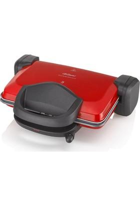 Arzum Sultane AR2009 Granite Izgara ve Tost Makinası 1800W Kırmızı