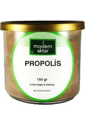 Modern Aktar Doğal Propolis Öğütülmüş 150 gr