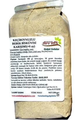 Asudan Keçiboynuzlu Bebek Bisküvisi Karışımı 250 gr