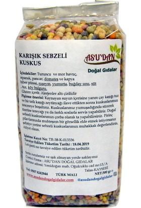 Asudan Doğal Gıdalar Karışık Sebzeli Kuskus 300 gr