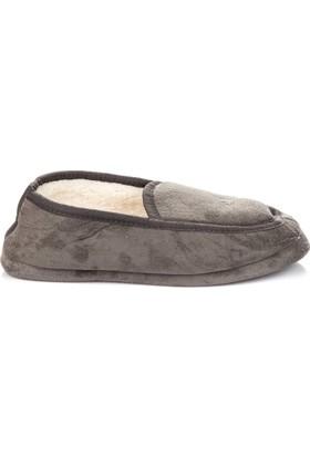 Pembe Potin Gri Erkek Ev Ayakkabısı