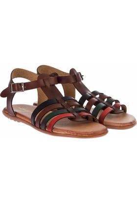 Pembe Potin Multi Kadın Sandalet