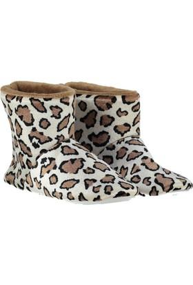 Pembe Potin Taba Bayan Ev Ayakkabısı
