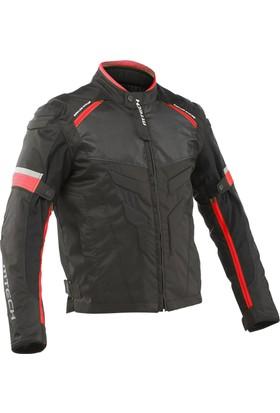 Mtech Gravity 2 Tekstil Ceket Siyah / Kırmızı