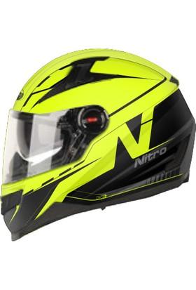 Nitro N2200 Güneş Camlı Kask 42