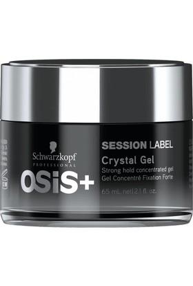 Osis Session Label Crystal Gel Jel Şekilendirici 65 ml - Yeni Seri