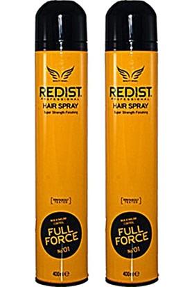 Redist Full Force Saç Spreyi 400 ml X 2 Adet