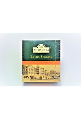 Ahmad Tea Kokulu Bardak Poşet Çay 100 Adet