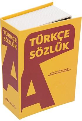 Mecra Tekstil Gizli Kitap Kasa Türkçe Sözlük Görünümlü Güvenli Gizli Kasa Kitap