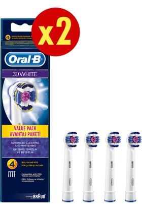Oral-B Diş Fırçası Yedek Başlığı Pro White 8 adet