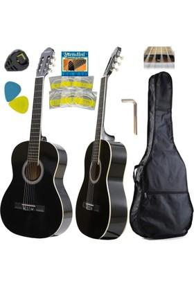 Hidalgo Klasik Gitar - Hidalgo Mh860Bk Sap Ayarlı