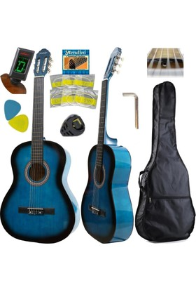 Hidalgo Klasik Gitar Full Set Tam Boy 4/4 Hidalgo Mh851Naturel