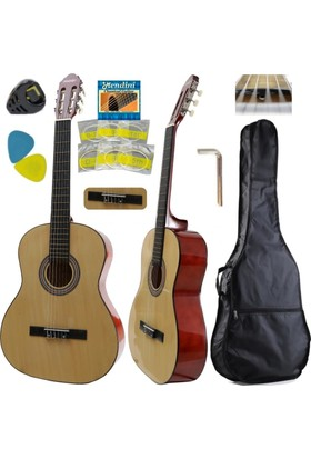 Hidalgo Klasik Gitar -Hidalgo Mh860 N Sap Ayarlı Yetişkin Gitarı