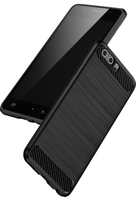 Case 4U Huawei P10 Plus Korumalı Arka Kapak Room Lacivert