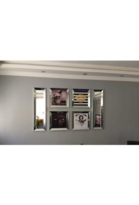 Defne Aynalı Çerçeveli Karma Poster Ve Ayna Set