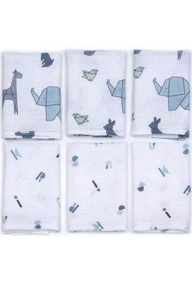Funna Baby 6'lı Müslin Ağız Bezi Origami