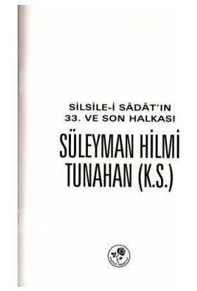 Süleyman Hilmi Tunahan K.s.