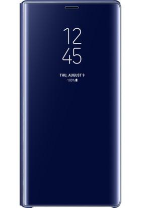 Samsung Note 9 Clear View Standing Kılıf (Lacivert)-EF-ZN960CLEGWW