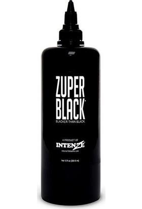 Intenze Dövme Boyası Koyu Siyah 0.5 Ozluk 15 ml