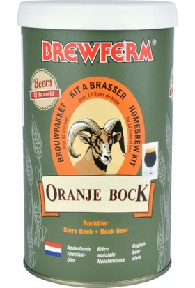 Brewferm Oranje Bock - Evde Bira Yapma Kiti