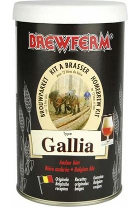 Brewferm Gallia - Evde Bira Yapma Kiti