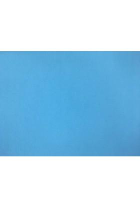 Decohome 10 M2 Alman Malı 593 Mavi Düz Desenli Duvar Kağıdı