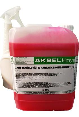 Akbel Kimya Jant Temizleyici & Parlatıcı Konsantre 1/4 5 Kg