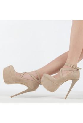Htr Kadın Platform Topuklu Ayakkabı