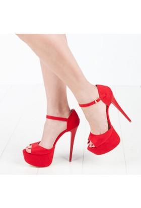 Hotarlıoğlu Kadın Platform Topuklu Ayakkabı