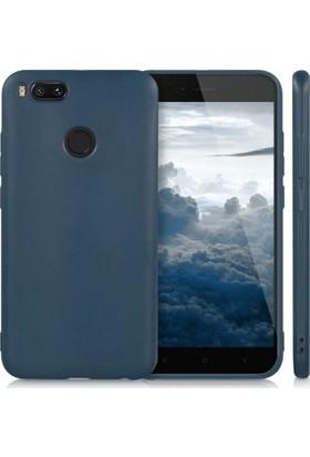 Teleplus Xiaomi Mi A1 İmax Kamera Korumalı Silikon Kılıf Lacivert