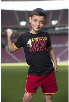 Galatasaray Lisanslı 4 Yıldız Çocuk Tshirt