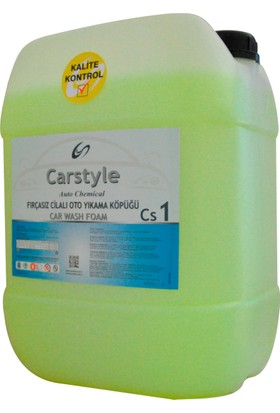 Carstyle Fırçasız Yıkama Köpüğü CS1