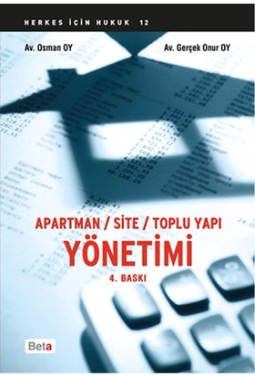 Apartman Site Toplu Yapı Yönetimi - Osman Oy Gerçek Onur Oy