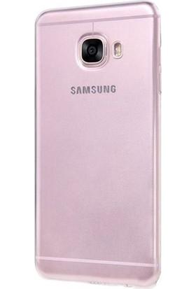 Gpack Samsung Galaxy J7 Max Kılıf 0.2 mm Silikon Nano Glass Şeffaf