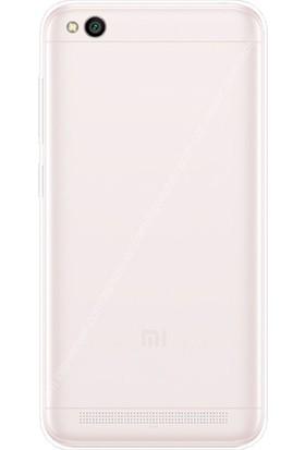 Gpack Xiaomi RedMi 5A Kılıf 0.2 mm Silikon Kılıf Nano Glass Şeffaf