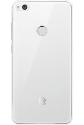 Gpack Huawei P9 Lite 2017 Kılıf 0.2 mm Silikon Kılıf Cam Koruma Şeffaf