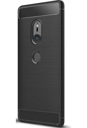 Gpack Sony Xperia XZ2 Kılıf Room Silikon Arka Kapak Nano Kalem Siyah