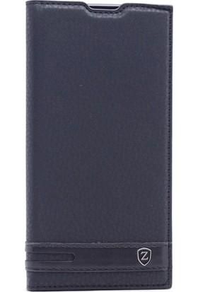 Gpack LG V30 Kılıf Elite Gizli Mıknatıslı Kapaklı Nano Kalem Siyah