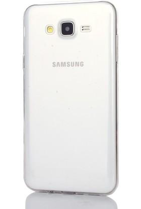 Gpack Samsung Galaxy A5 2015 Kılıf 0.2 mm Silikon Cam Koruma Şeffaf