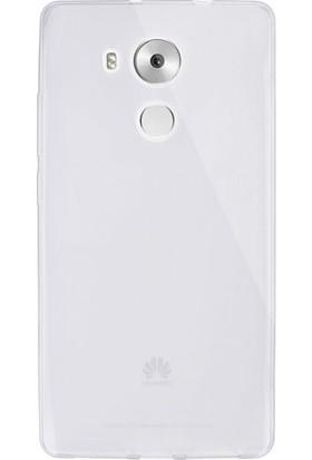 Gpack Huawei Mate 8 Kılıf 0.2 mm Silikon Kılıf Nano Glass Şeffaf