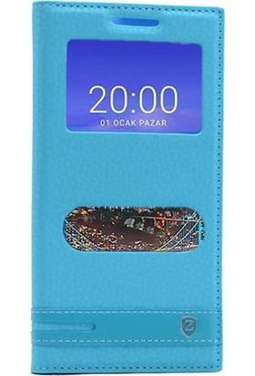 Gpack Vestel Venüs V3 5530 Kılıf Elite Mıknatıslı Nano Glass Turkuaz