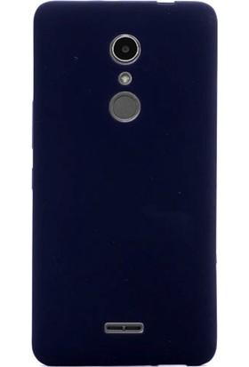 Gpack Alcatel A3 XL Kılıf Premier Silikon Mat Silikon Nano Glass Koruyucu Siyah