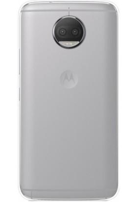 Gpack Lenovo Moto G5s Kılıf 0.2 mm Silikon Ultra İnce Silikon Cam Şeffaf