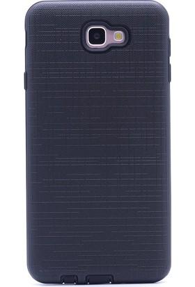 Gpack Samsung Galaxy J7 Prime Kılıf New Youyou Silikon Nano Glass Siyah