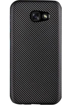 Gpack Samsung Galaxy A7 2017 Kılıf İzore Carbon Nano Glass Siyah