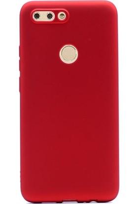 Gpack Casper Via F2 Premier Silikon Kılıf Nano Glass Kırmızı